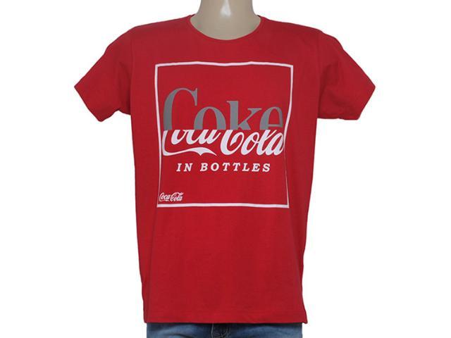 Camiseta Masculina Coca-cola Clothing 353204660 Vermelho