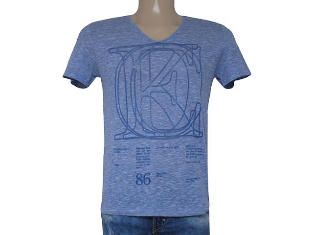 Camiseta Masculina Coca-cola Clothing 353203605 Azul Jeans