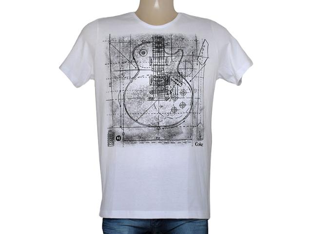 Camiseta Masculina Coca-cola Clothing 355200034 Branco