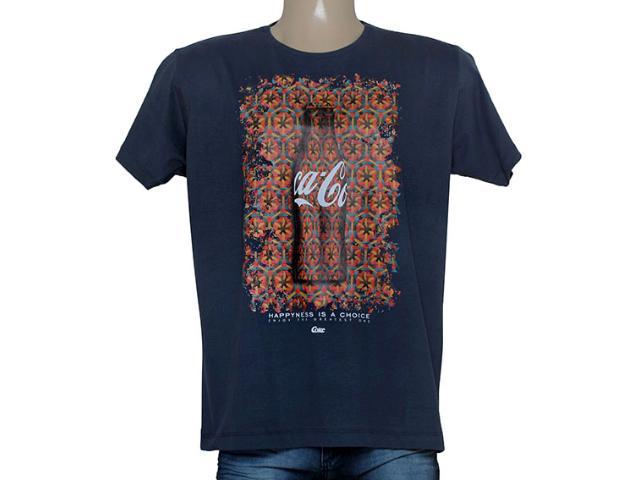 Camiseta Masculina Coca-cola Clothing 353204634 Marinho