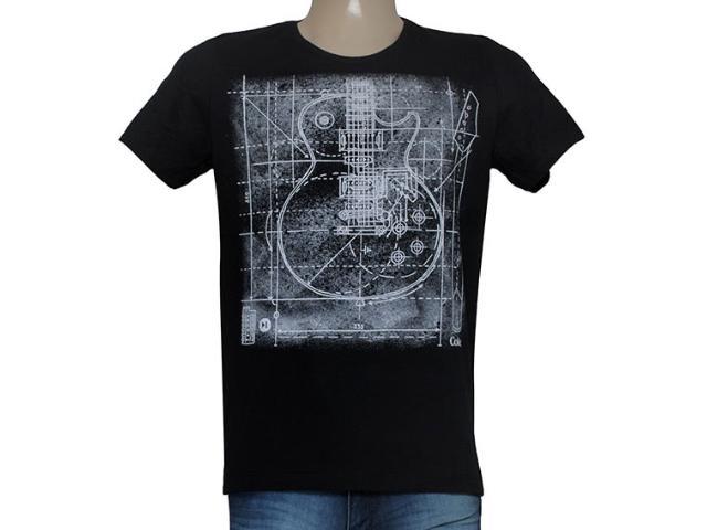 Camiseta Masculina Coca-cola Clothing 355200034 Preto