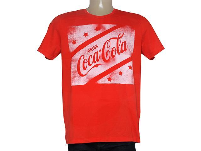 Camiseta Masculina Coca-cola Clothing 353204738 Vermelho