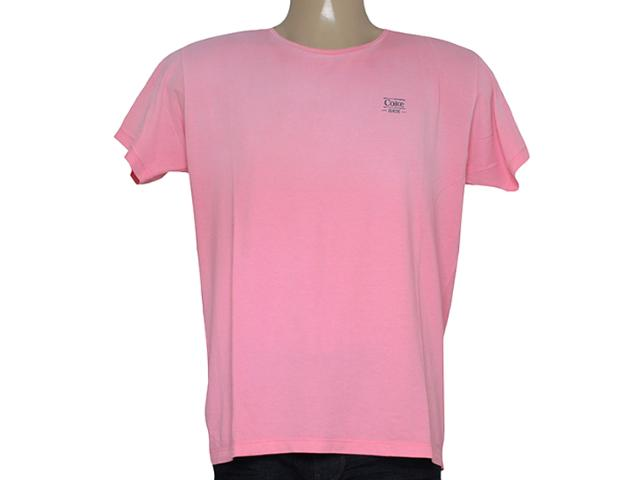 Camiseta Masculina Coca-cola Clothing 353204613 Rosa