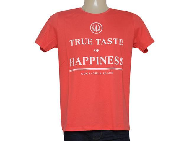 Camiseta Masculina Coca-cola Clothing 353204849 Vermelho
