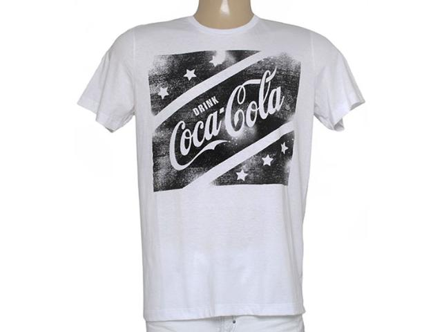 Camiseta Masculina Coca-cola Clothing 353204738 Branco