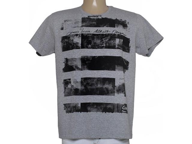 Camiseta Masculina Coca-cola Clothing 353204764 Mescla