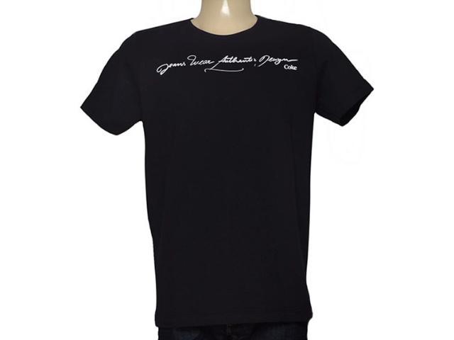 Camiseta Masculina Coca-cola Clothing 353204593 Preto