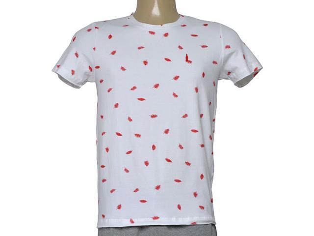 Camiseta Masculina Coca-cola Clothing 353205632 Var14 Branco/vermelho