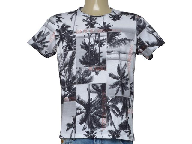 Camiseta Masculina Coca-cola Clothing 353206222 Vb14 Branca Estampada