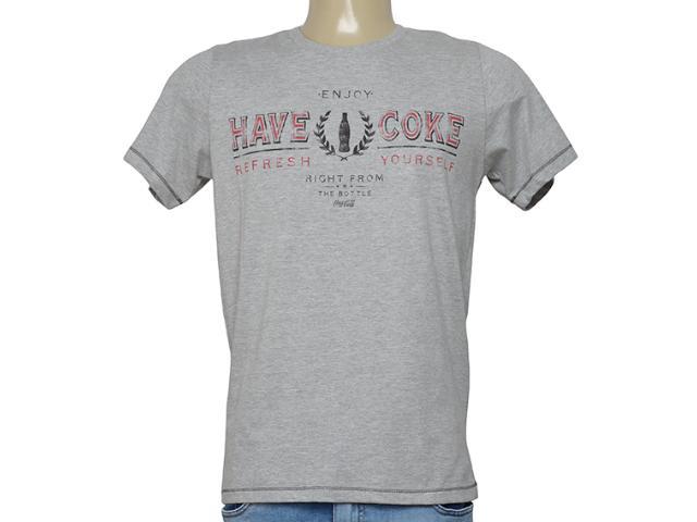 Camiseta Masculina Coca-cola Clothing 353205989 Mescla