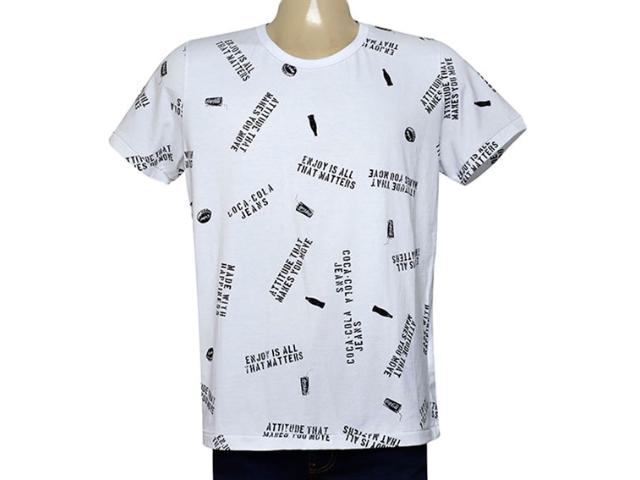 Camiseta Masculina Coca-cola Clothing 353205139 Var1 Branco