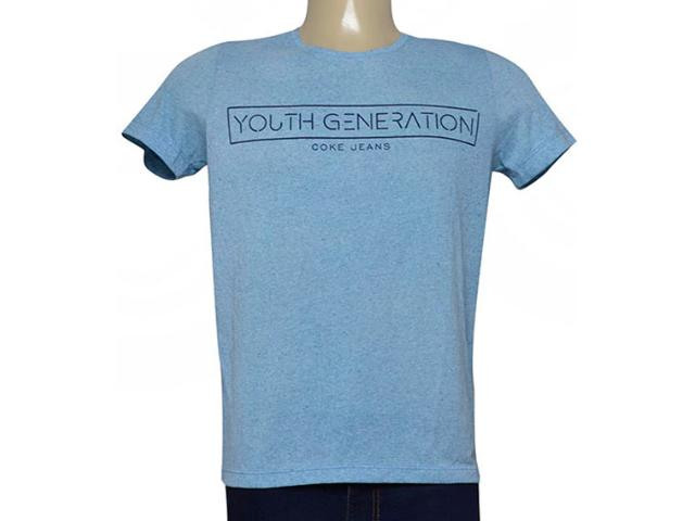 Camiseta Masculina Coca-cola Clothing 353205183 Var1 Azul
