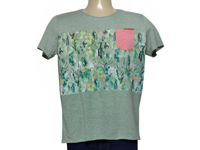 Camiseta Masculina Coca-cola Clothing 353205206 Var15 Verde
