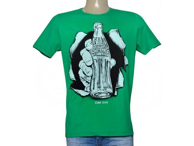 Camiseta Masculina Coca-cola Clothing 353205134 Verde