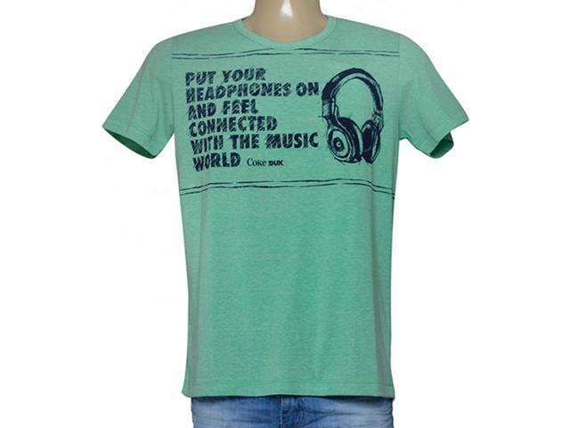 Camiseta Masculina Coca-cola Clothing 355200112 Verde