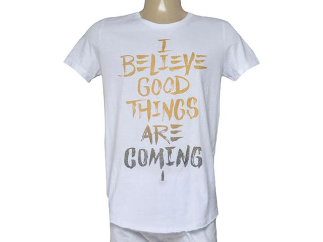 Camiseta Masculina Coca-cola Clothing 353205602 Branco