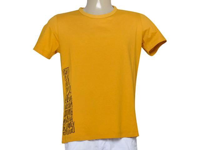 Camiseta Masculina Coca-cola Clothing 353205133 Mostarda
