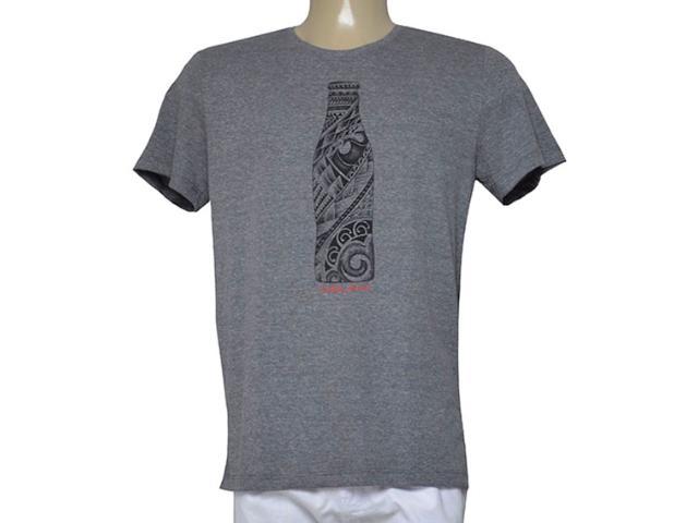 Camiseta Masculina Coca-cola Clothing 353205308 Mescla
