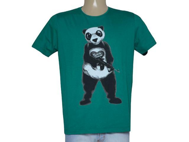 Camiseta Masculina Coca-cola Clothing 355600153 Verde