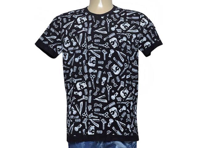 Camiseta Masculina Coca-cola Clothing 355800047 Var2 Preto