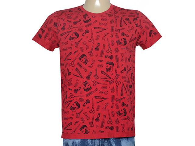 Camiseta Masculina Coca-cola Clothing 355800047 Var1 Vermelho