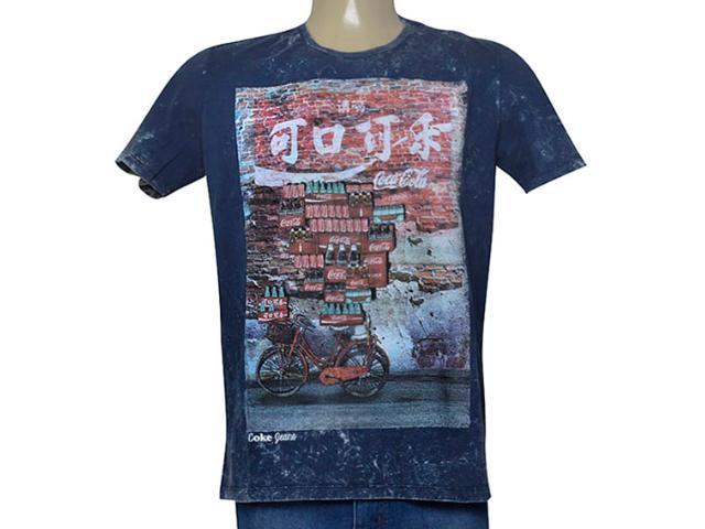 920b9b58d Camiseta Coca-cola Clothing 353205461 Marinho Comprar na...