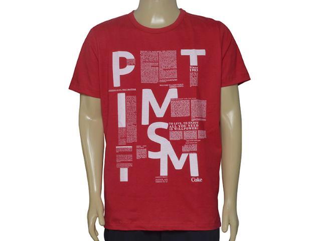 Camiseta Masculina Coca-cola Clothing 0353205508 Cereja