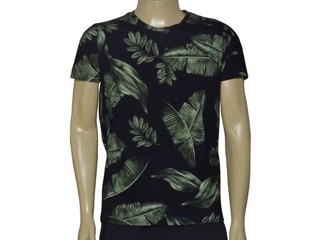 Camiseta Masculina Coca-cola Clothing 353205530 Var1 Preto Floral