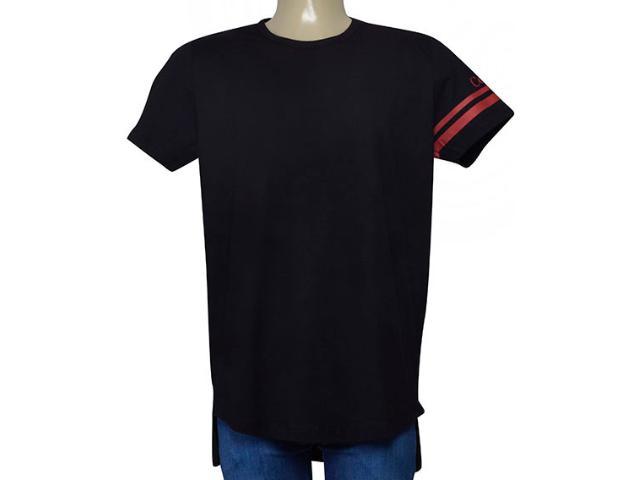 Camiseta Masculina Coca-cola Clothing 353205510 Preto