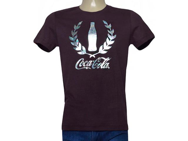Camiseta Masculina Coca-cola Clothing 353205581 Roxo