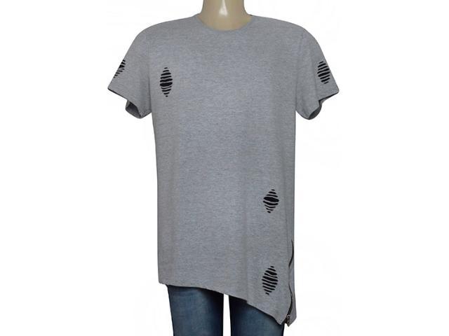 Camiseta Masculina Coca-cola Clothing 355800116 Cinza