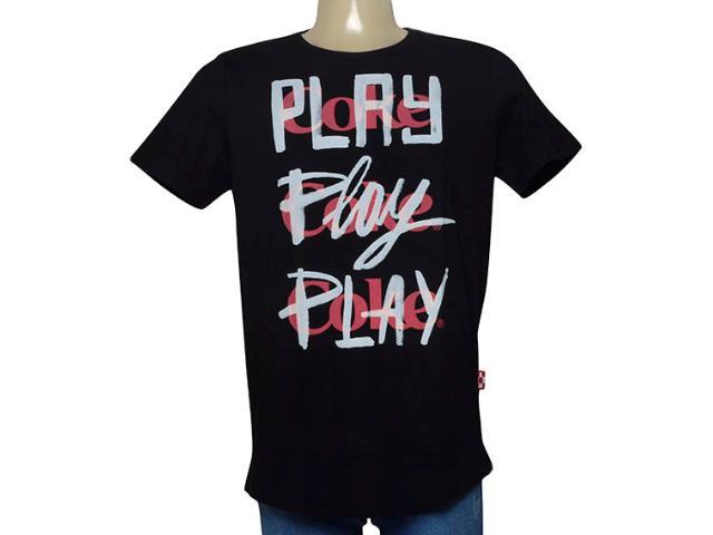 Camiseta Masculina Coca-cola Clothing 353205624 Preto