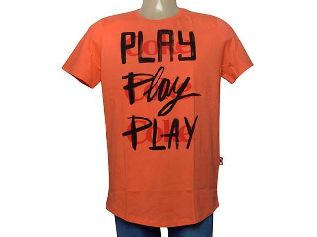 Camiseta Masculina Coca-cola Clothing 353205624 Laranja