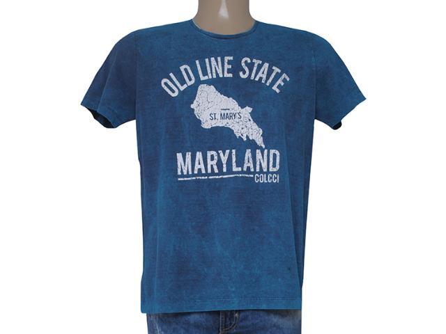 Camiseta Masculina Colcci 350106655 Azul