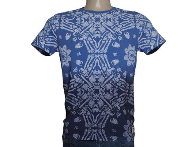 Camiseta Masculina Dopping 015257568 Azul