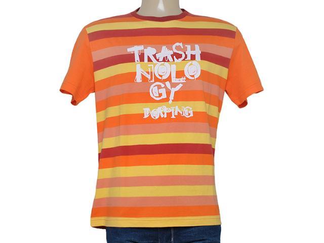 Camiseta Masculina Dopping 015060502 Pitanga
