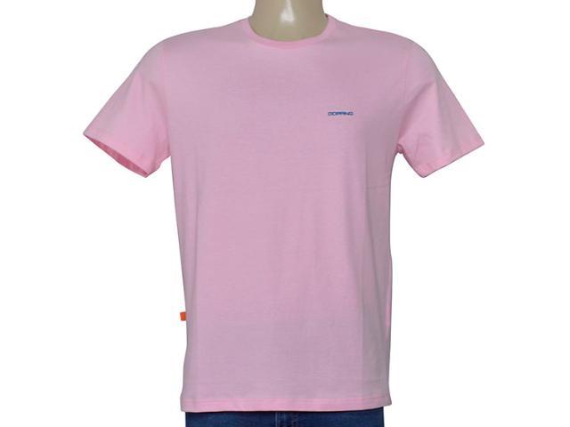 Camiseta Masculina Dopping 015268580 Rosa