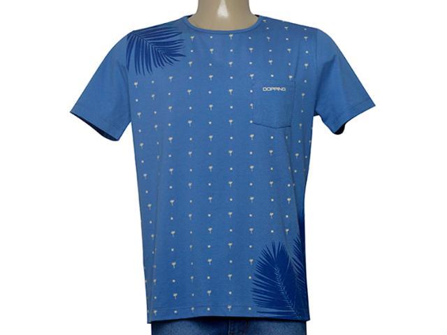 Camiseta Masculina Dopping 015268596 Azul