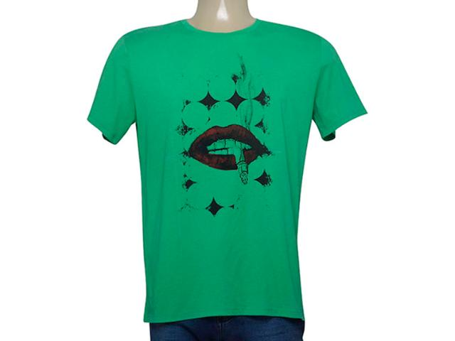 Camiseta Masculina Enzo Milano 0023200312 Verde