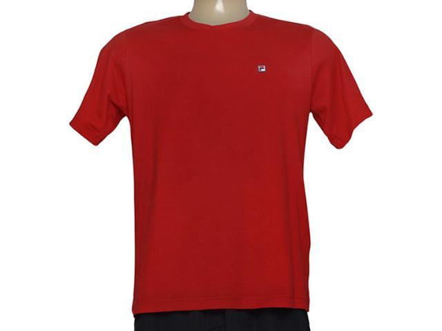 Camiseta Masculina Fila U101017 Classic F-box Vermelho