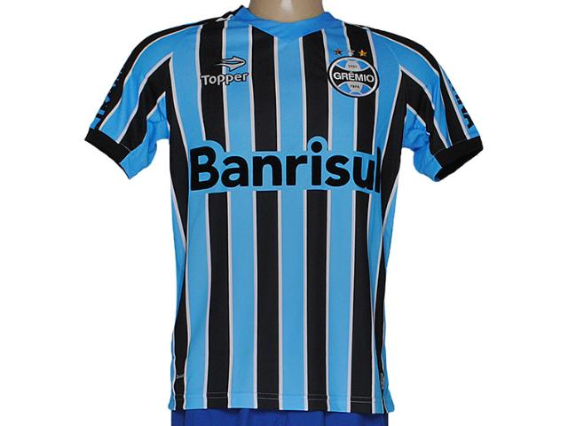 Camiseta Masculina Grêmio C9000m Tricolor