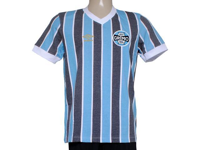 Camiseta Masculina Grêmio 3g00019 Retrô Tricolor