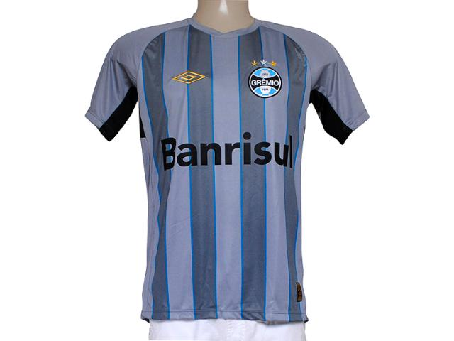 Camiseta Masculina Grêmio 3g05000 Goleiro Cinza/preto