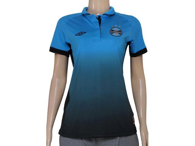 Camiseta Feminina 3g00012 Grêmio Oficial Iii Azul