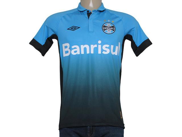 Camiseta Masculina Grêmio 3g00029 Azul/preto