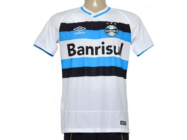 Camiseta Masculina 3g00054 Grêmio Fan Branco/azul/preto