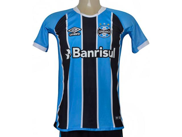 Camiseta Masculina Grêmio 3g160086 of 1 2017 Game Tricolor