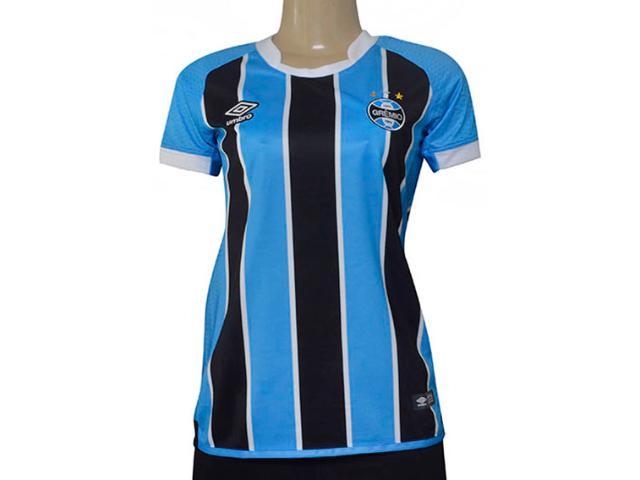 Camiseta Feminina Grêmio 3g160090 of 1 2017 Tricolor