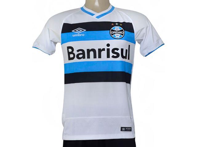 Camiseta Masculina Grêmio 3g00052 of 2 2016 Branco/azul/preto