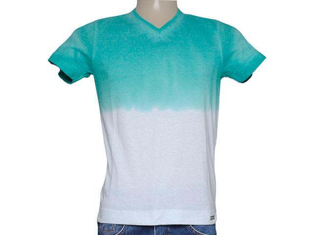 Camiseta Masculina Index 08.02.000276 Verde/off White